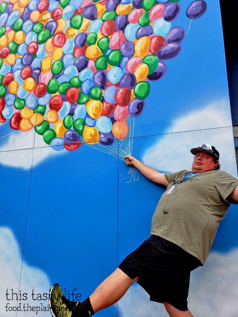 Up Balloons at Disney California Adventure