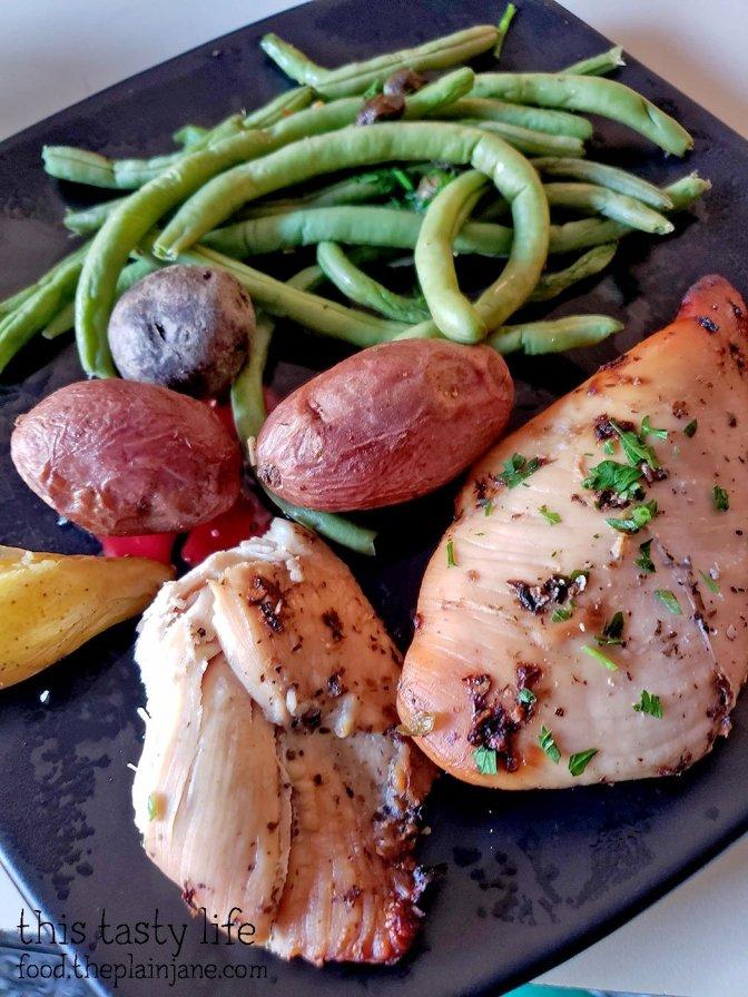 Herb Chicken - Eat Clean Meal Prep
