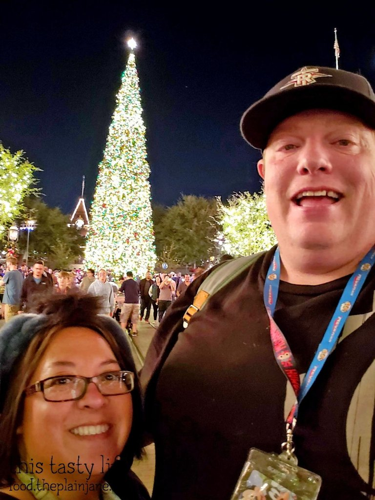 Christmas Tree - Main Street - Disneyland
