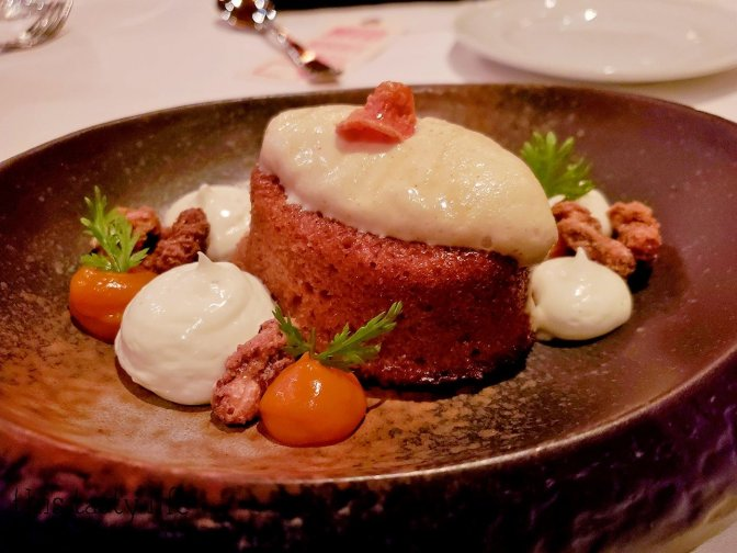 Carrot Cake with Browned Butter Maker's Mark Ice Cream at Cowboy Star - San Diego, CA