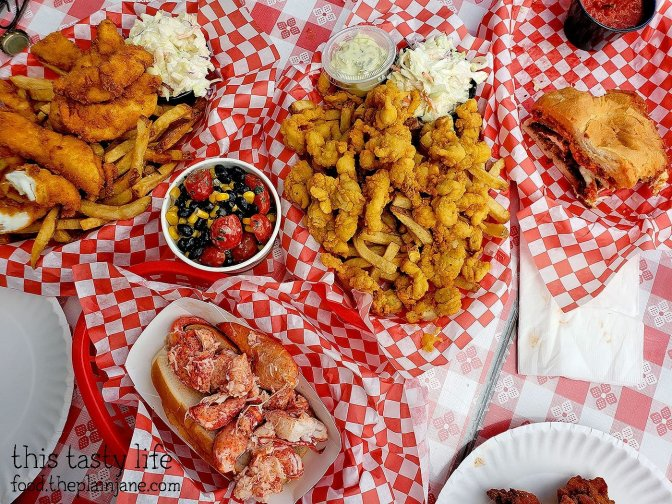 Seafood Lunch at Pete's Seafood - North Park - San Diego, CA
