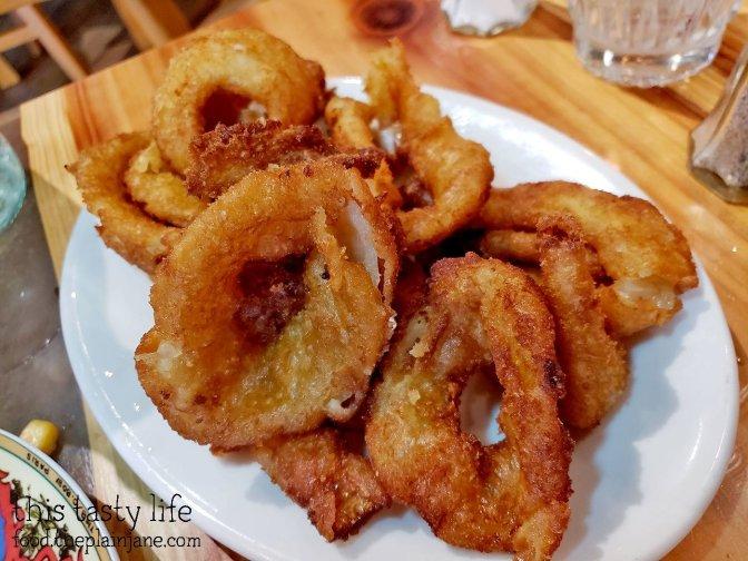 Tempura Onion Rings