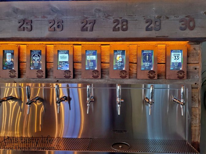 Pouring stations