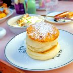 Souffle Pancakes at Morning Glory