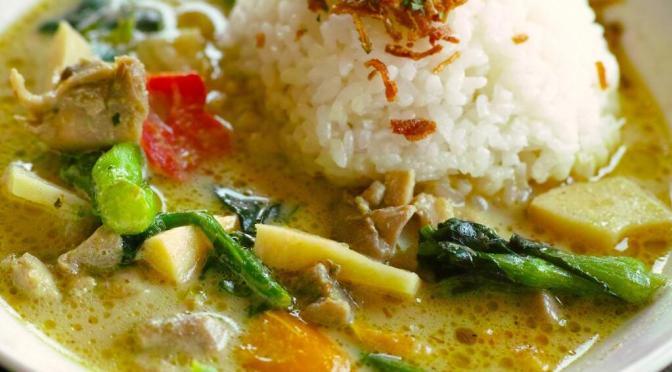 タイのグリーンカレーは1食70円の激安。カレーの種類と具と原料について。