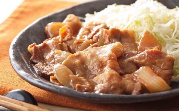 超簡単!超早い!豚肉の生姜焼きの壮絶簡単レシピ!