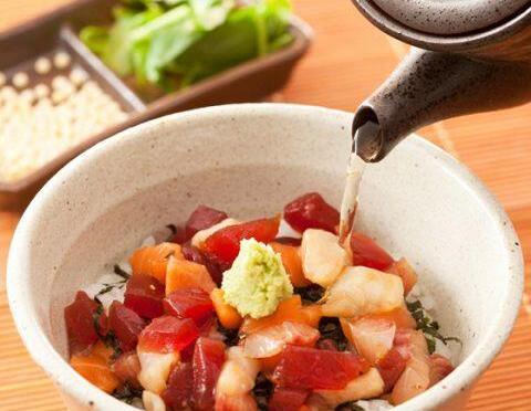 ひつまぶしは職人の味!さっぱり食べる、海鮮ひつまぶし!