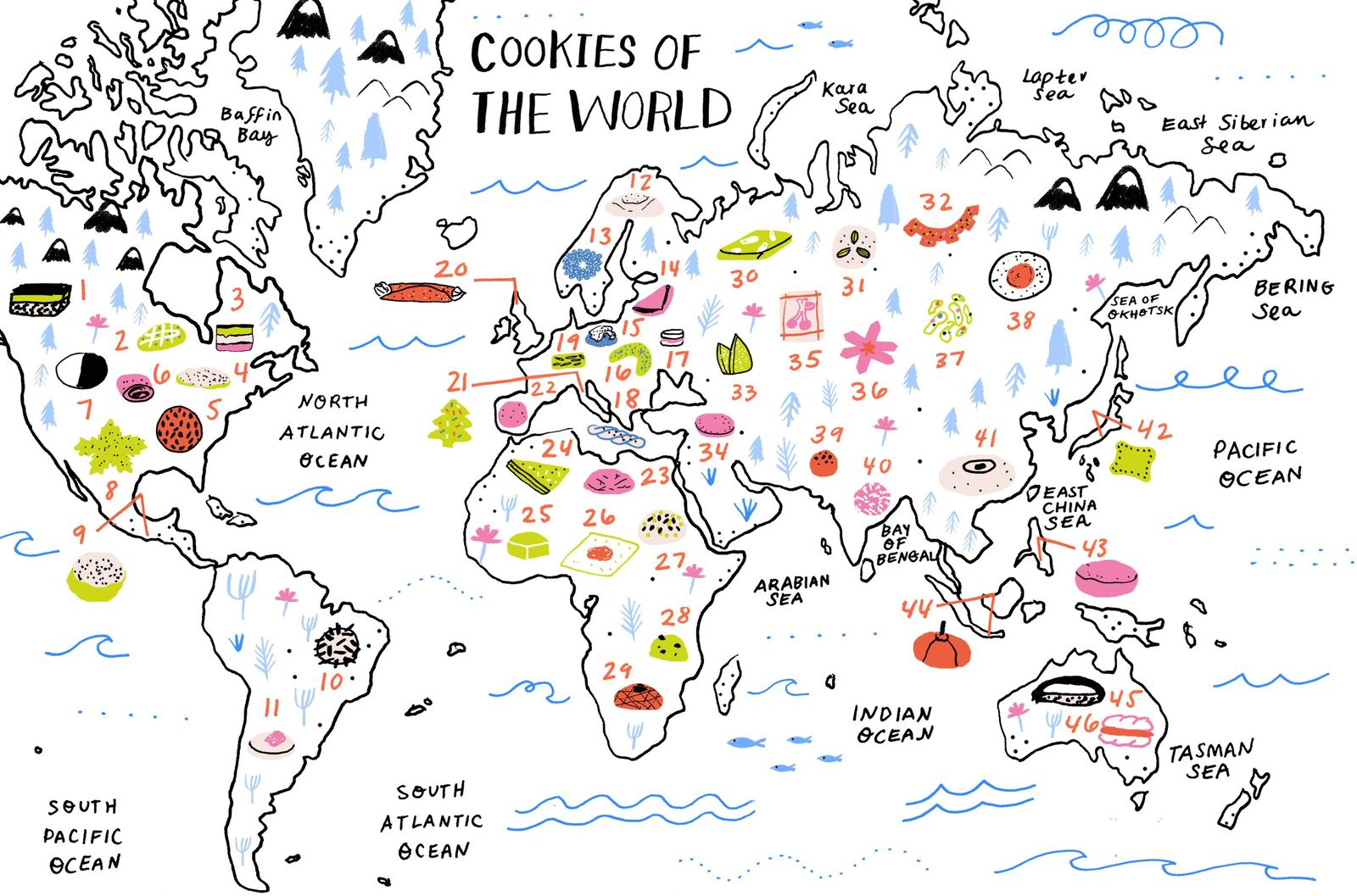 Cookie Map