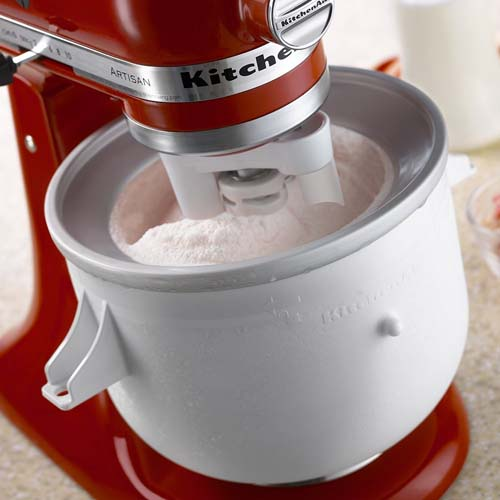 Kitchenaid Quart Ice Cream Maker Stand Mixer Attachment Foodal
