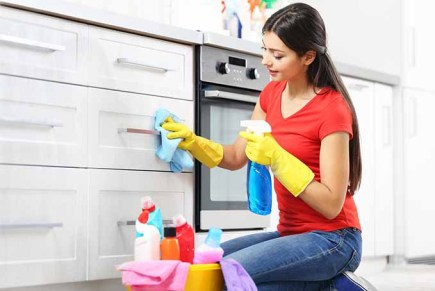 Image result for cleaning top of cabinet