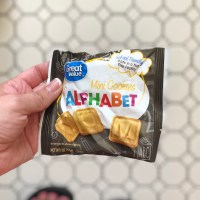 Great Value WalMart Brand Alphabet Cookies