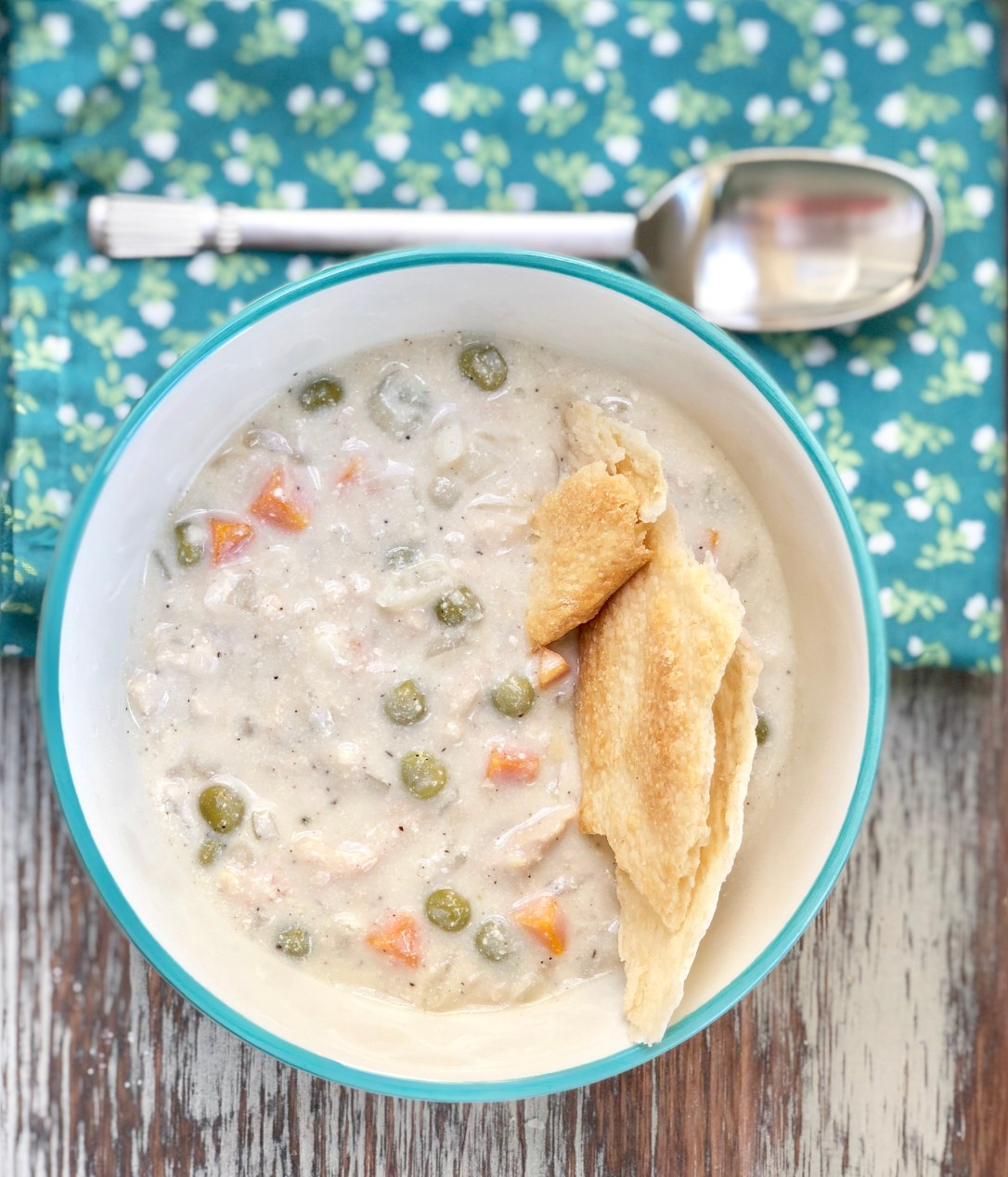 Food Allergy Friendly Crockpot Chicken Pot Pie Slow Cooker Recipe, Gluten Free, Top 8 Free