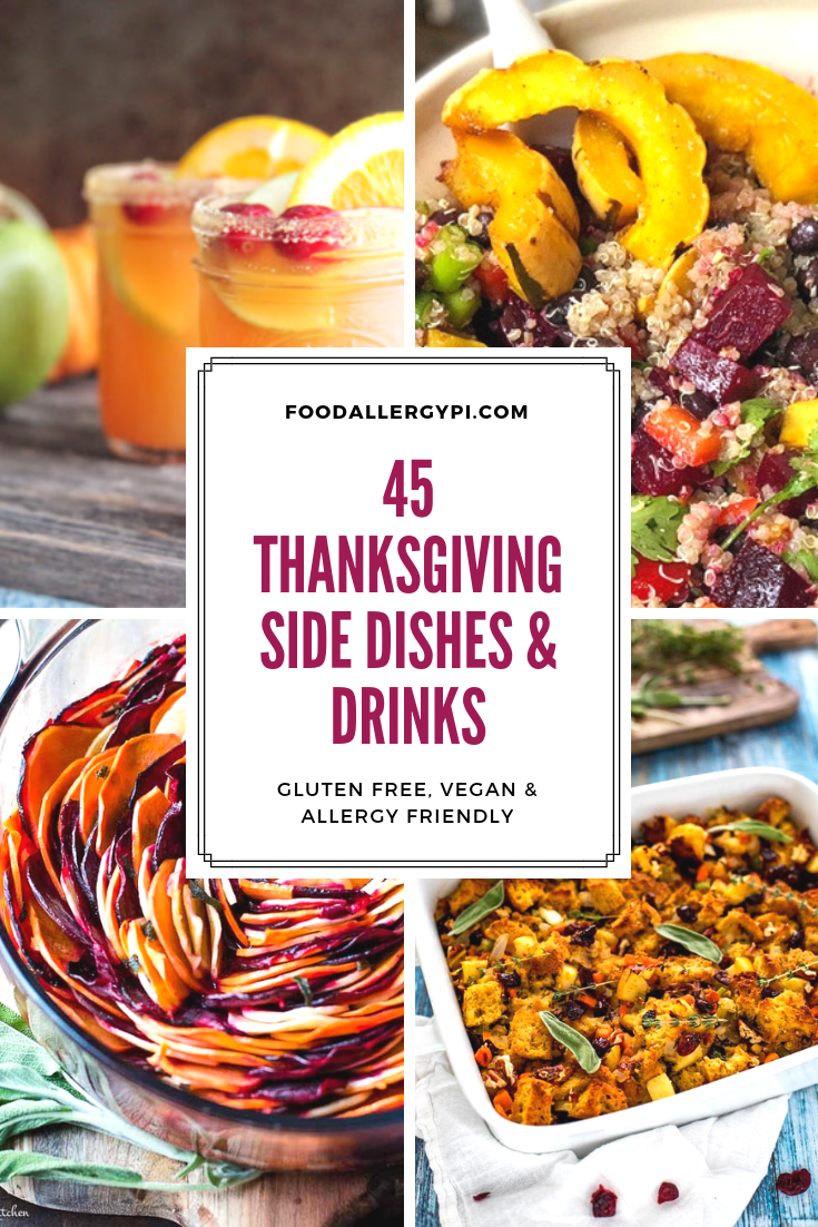 45 thanksgiving side dishes & drinks