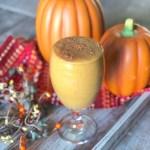 Pumpkin Pie Smoothie Gluten Free, Vegan, Allergy Friendly