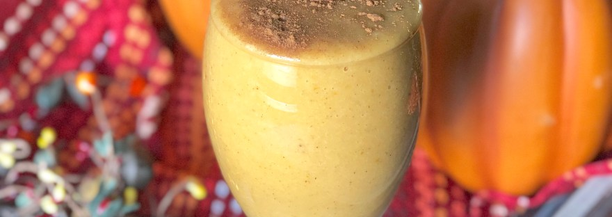 Pumpkin Pie Smoothie Gluten Free, Vegan, Allergy Friendly