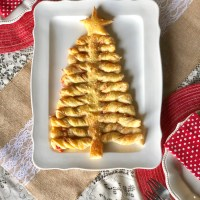 Savory Puff Pastry Christmas Tree | Recipe & Tutorial