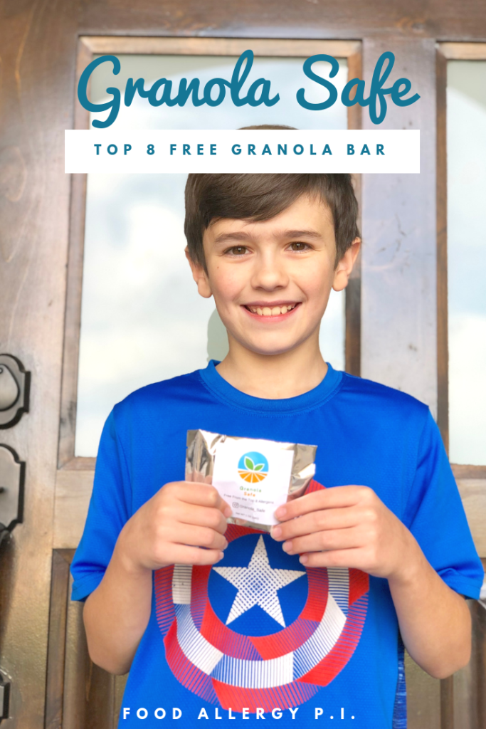 Granola Safe Allergy Friendly Granola Bar Top 8 Free & Vegan