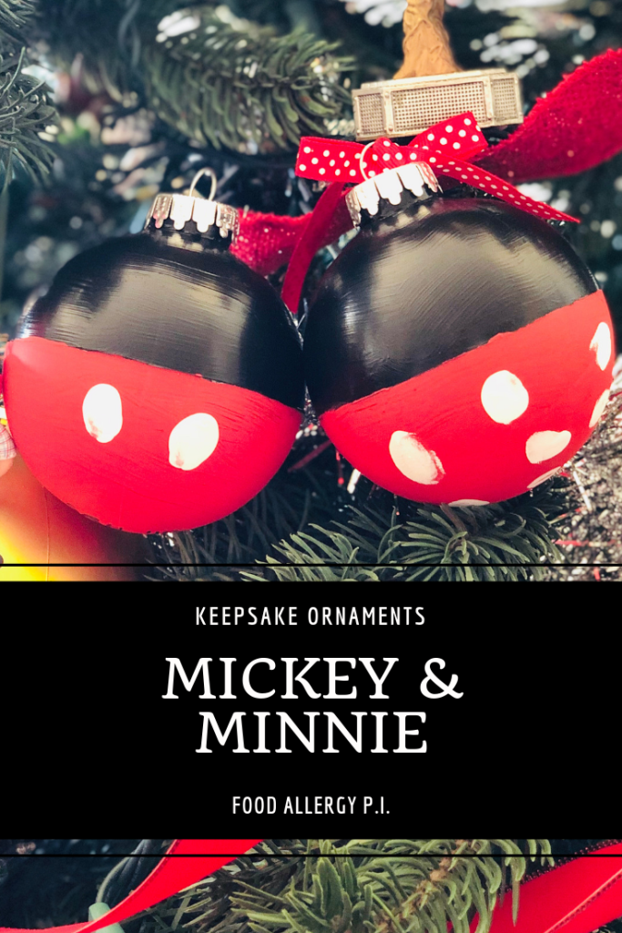 Mickey & Minnie Keepsake Ornament