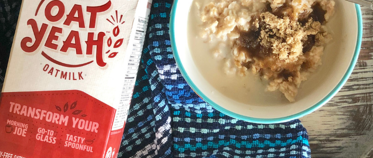 Gluten Free Vegan Brown Sugar Oatmeal #ad