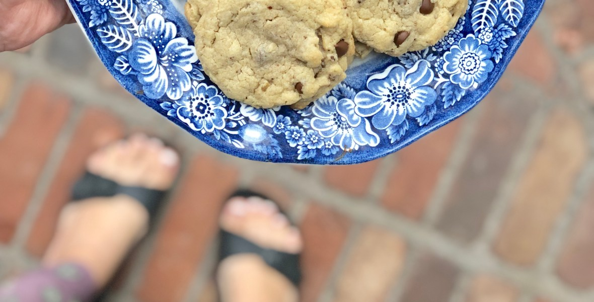 Chewy Granola Chip Cookies | Allergy Friendly, Top 8 Free, Gluten Free, Vegan & Nut Free