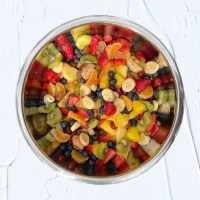 Rainbow Summer Fruit Salad