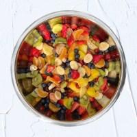 Rainbow Summer Fruit Salad