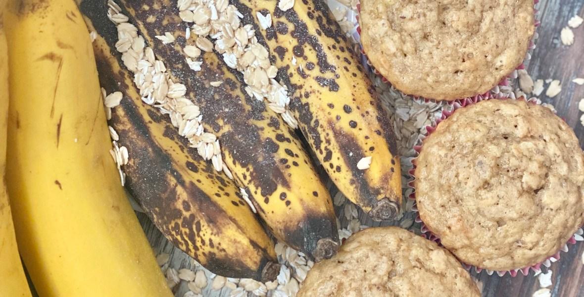 Banana Oat Buttermilk Muffin Top 8 Top 9 Top 14 Allergy Friendly Gluten Free Vegan Nut Free