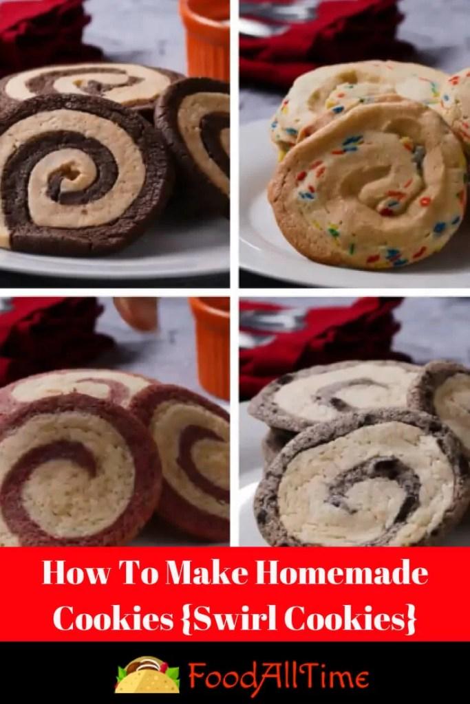 How To Make Homemade Cookies {Swirl Cookies}