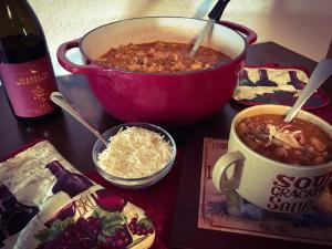 Italian Chili made with red wine