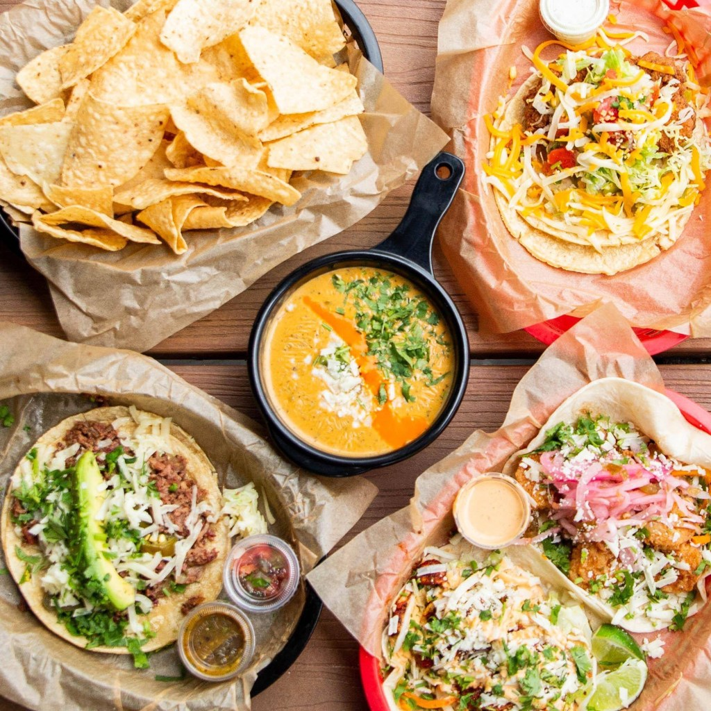 Torchy's Tacos and Green Chile Queso