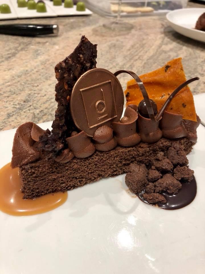 A seasonal fall dessert at D Bar Restaurant in Denver, CO