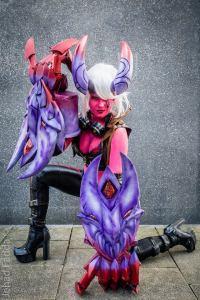 Demon Vi, Cosplay, Claws, Gauntlets