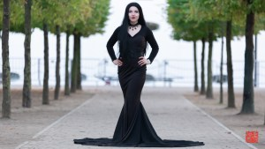 Morticia Addams / The Addams Family by Kitty Stormborn Cosplay