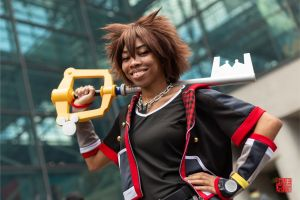 Sora / Kingdom Hearts by msjadecos