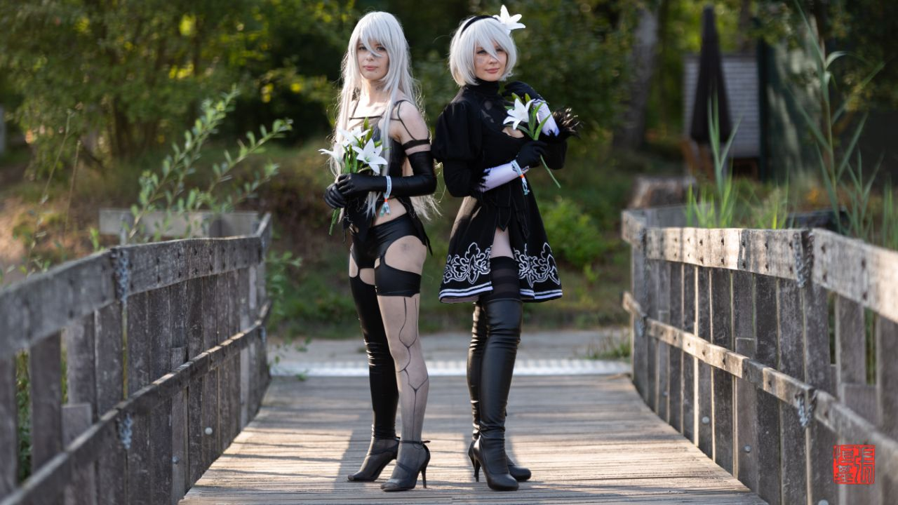 A2 & 2B / Nier Automata by Icklecosplay & Tealeath