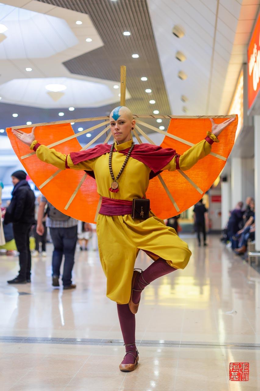 Aang / Avatar : The Last Airbender by scarymchairyart