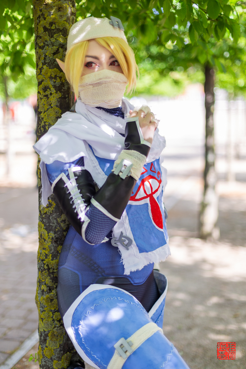 Sheik / Legend of Zelda by Ace of Prince