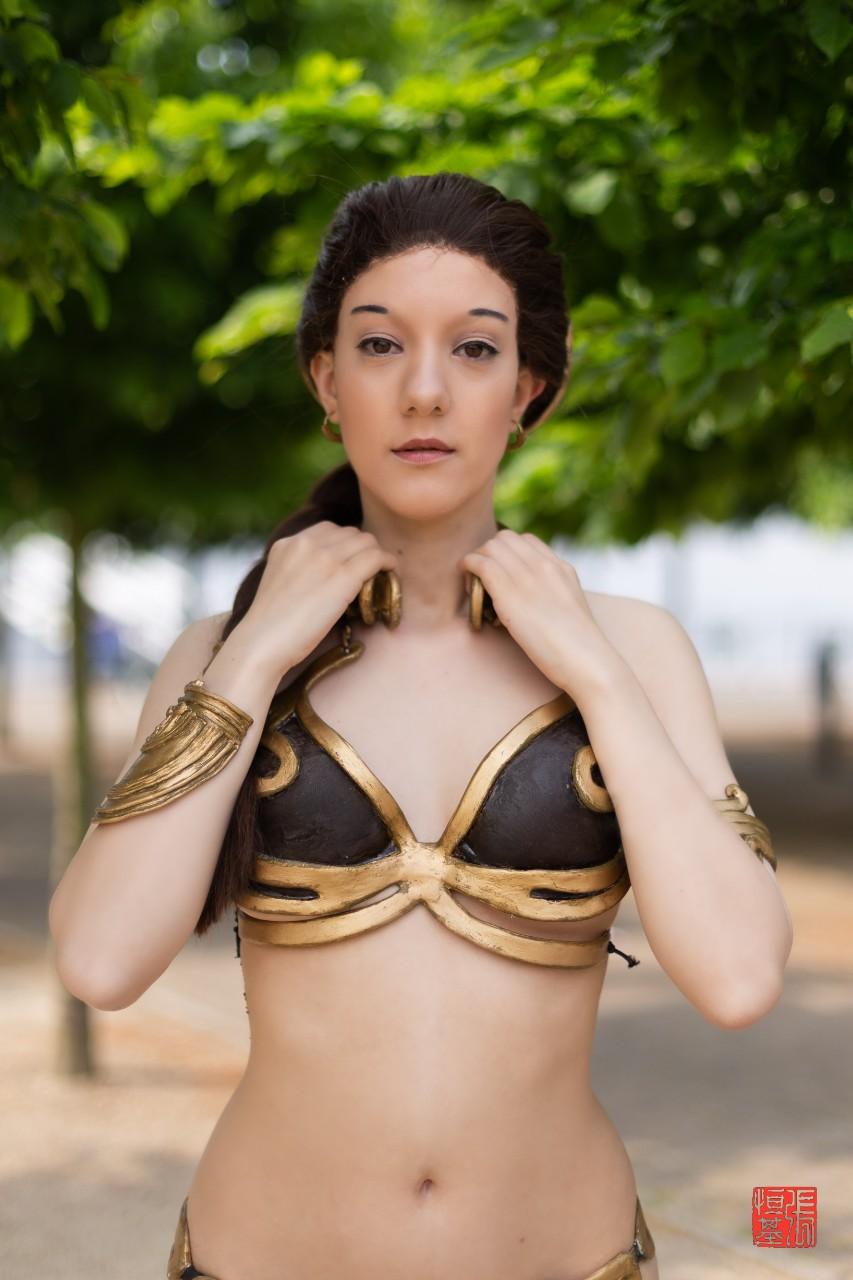 Slave Leia by Ocean Myst Cosplay