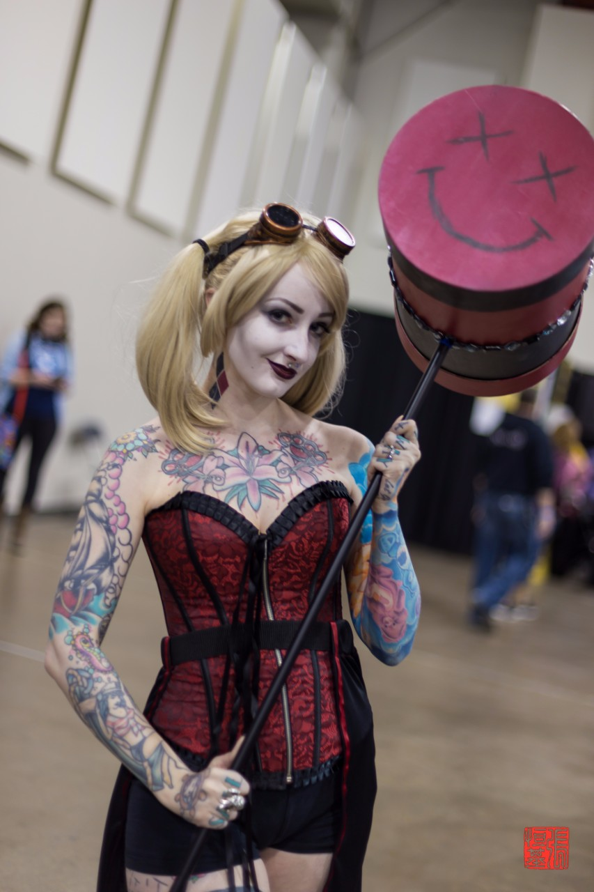 Steampunk Harley Quinn by Catherine Banman Cosplay