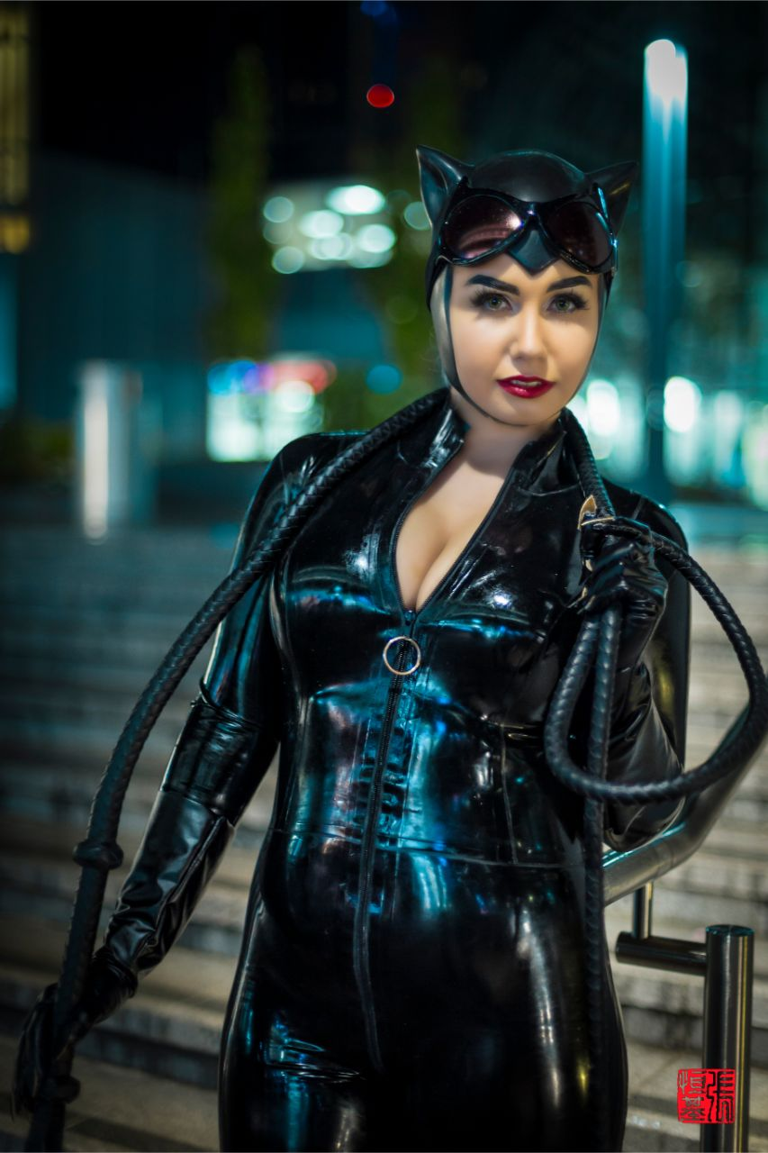 Latex Catwoman by Goddamn Catwoman