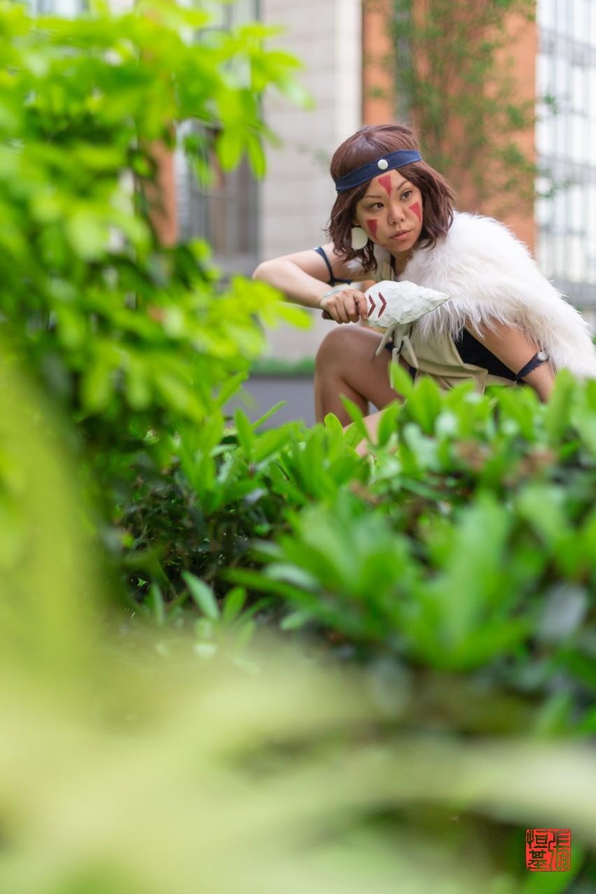San / Princess Mononoke by Baobaebye