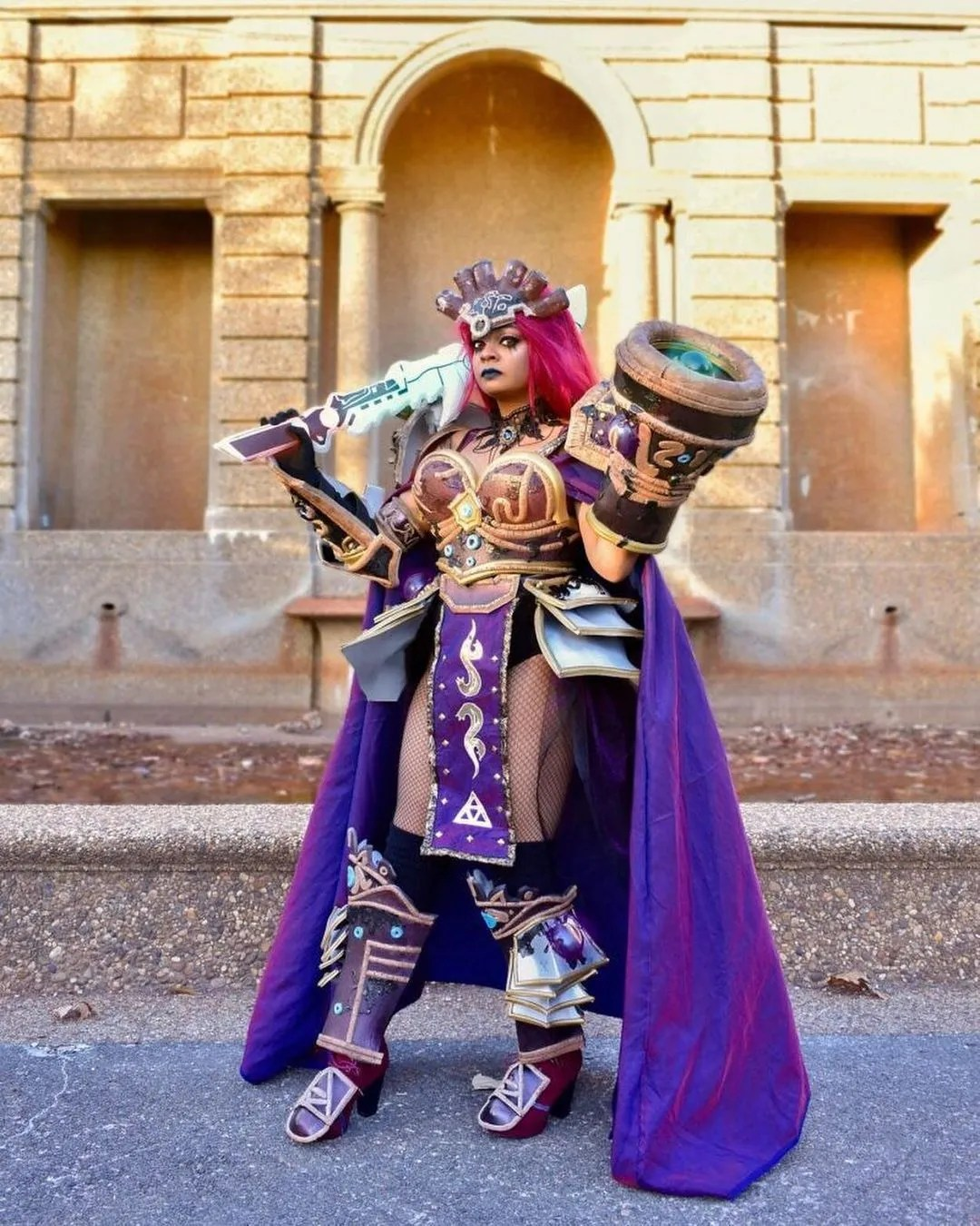 Cosplay Stories : Calamity Ganon / The Legend of Zelda by Phalafel Cosplays