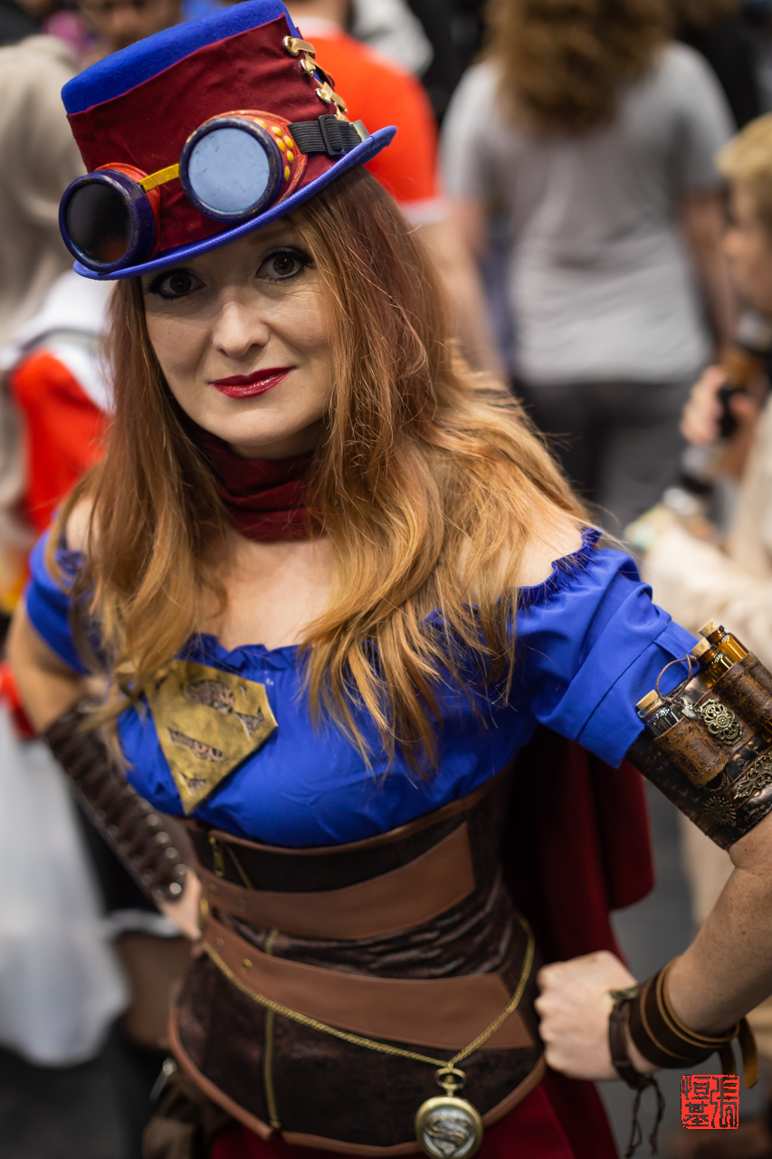 Steampunk Supergirl by Ickle Chick