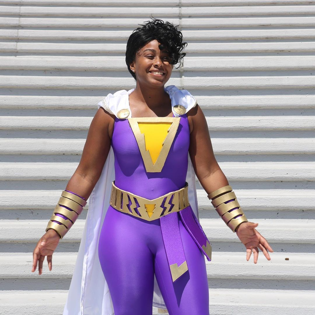 Cosplay Stories : Darla Dudley / Shazam by kai.esh_black