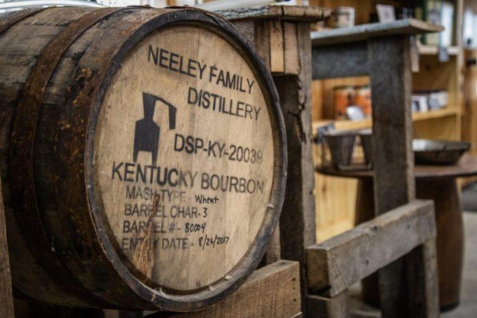 Neeley Family Distillery Bourbon Barrel