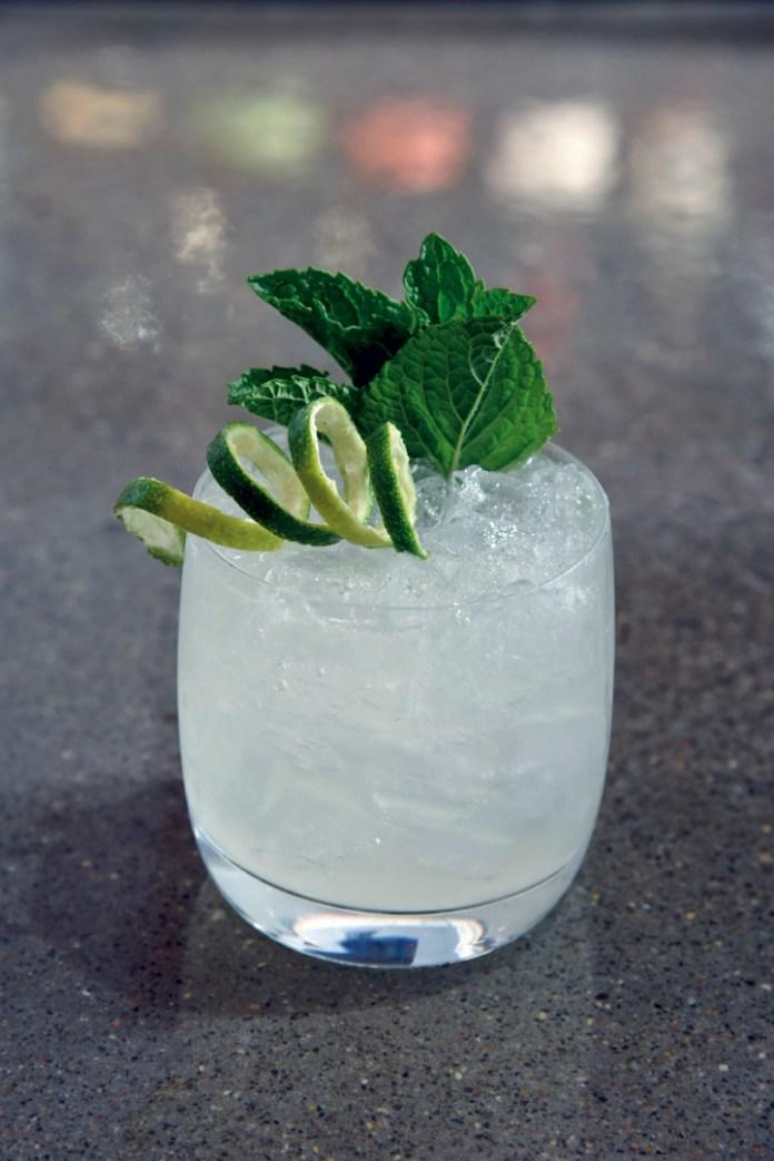 """Ba Luu Rita"" with lemongrass syrup"