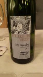 DG - Wollersheim dry riesling
