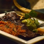 Wood grilled carne asada