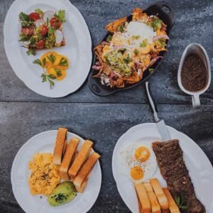 Weekend brunch at SteakBar
