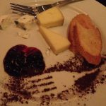 Wildfire wine dinner cheese course